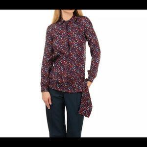 €315ALESSANDRO DELL'ACQUA Silk Shirt IT38/XS Italy